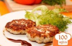Фото рецепта: «Котлеты куриные с сыром»