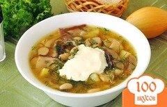 Фото рецепта: «Диетический фасолевый суп»