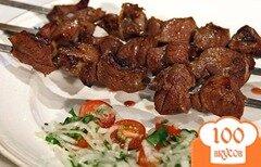 Фото рецепта: «Шашлык из говядины с киви»