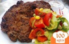 Фото рецепта: «Легкий салат с мясом гриль»