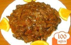 Фото рецепта: «Бефстроганов из говядины»