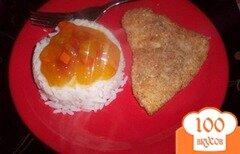 Фото рецепта: «Куриные отбивные в панировочных сухарях»