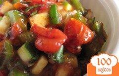 Фото рецепта: «Сальса из печеных помидоров и перца поблано»