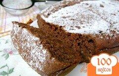 Фото рецепта: «Шоколадный кекс...с кабачком!»