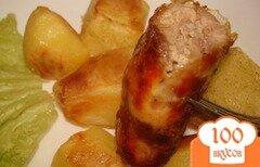 Фото рецепта: «Колбаски домашние рубленые»
