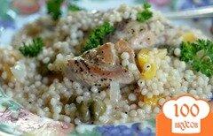 Фото рецепта: «Куриные грудки с абрикосами и каперсами»