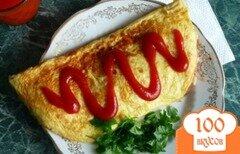 Фото рецепта: «Рисовый омлет»