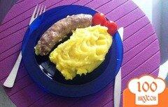 Фото рецепта: «Воздушное пюре с шафраном.»