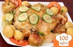 Фото рецепта: «Курица с овощами в мультиварке»