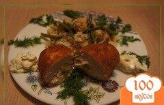 Фото рецепта: «Куриные зразы с сыром»