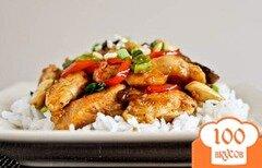 Фото рецепта: «Курица с кешью»