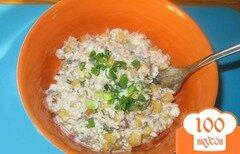 Фото рецепта: «Салат с сардинами и кукурузой»