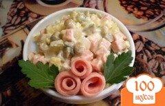 Фото рецепта: «Оливье по-домашнему»