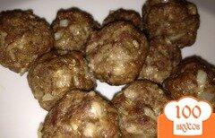 Фото рецепта: «Мясные шарики с пармезаном и орегано»