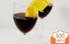 Фото рецепта: «Коктейль с красным вином»