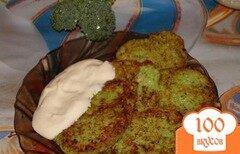 Фото рецепта: «Фешен драники с брокколи»
