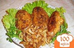 Фото рецепта: «Жареный морской окунь»