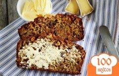 Фото рецепта: «Кабачковый хлеб с клюквой и орехами»