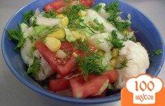Фото рецепта: «Салат из цветной капусты»