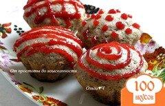 Фото рецепта: «Вишневые кексы»