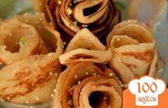 Фото рецепта: «Тонкие блинчики на ряженке»