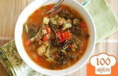 Фото рецепта: «Вегетарианский суп»