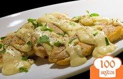 Фото рецепта: «Курица в сметанном соусе»