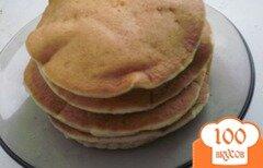 Фото рецепта: «Пышные оладушки на йогурте»