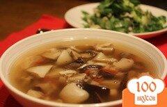 Фото рецепта: «Суп грибной из замороженных грибов»