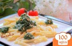Фото рецепта: «Паста с песто из шпината»