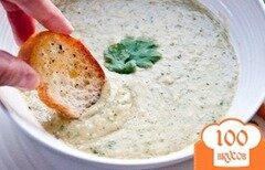 Фото рецепта: «Фасолевый суп-хумус»