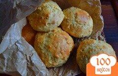 Фото рецепта: «Булочки с арахисом и овсом»
