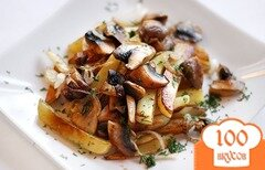 Фото рецепта: «Шампиньоны с картошкой»
