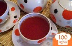 Фото рецепта: «Чай травяной с каркаде»