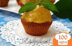 Фото рецепта: «Манные кексы с сабайоном»