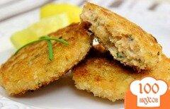 Фото рецепта: «Котлеты из красной рыбы»