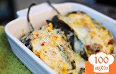 Фото рецепта: «Фаршированные перцы чили»