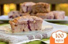Фото рецепта: «Печенье с вишней и шоколадом»