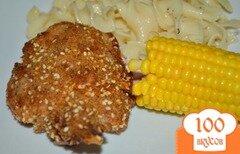 Фото рецепта: «Куриные бедрышки в кунжуте»