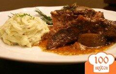 Фото рецепта: «Тушеное мясо с бальзамическим уксусом из мультиварки»