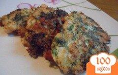Фото рецепта: «Рыбные котлетки-омлетки»