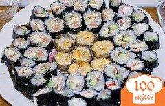Фото рецепта: «Суши и грибы по-японски»