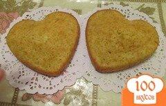 Фото рецепта: «Апельсиновые сердечки»