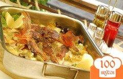 Фото рецепта: «Морской окунь в духовке»