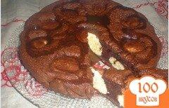 Фото рецепта: «Шоколадный пирог с творожно-кокосовыми шариками»
