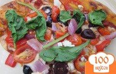 Фото рецепта: «Пицца по-гречески»