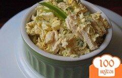 Фото рецепта: «Пекинская капуста с курицей»