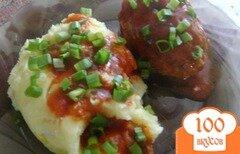 Фото рецепта: «Котлеты под соусом»