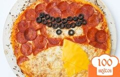 "Фото рецепта: «Пицца ""Angry Birds""»"