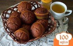 Фото рецепта: «Кексы Медовые постные»